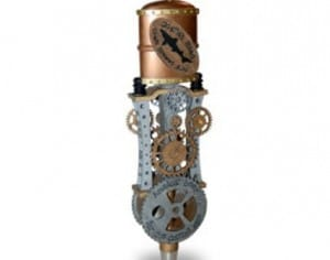 Dogfish_Steampunk-Custom Tap Handle_Resin