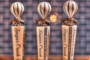 Sugar Creek Brewing Custom Tap Handles Resin