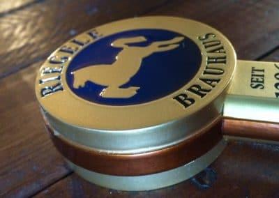 Rieggle Custom Beer Tap Handle