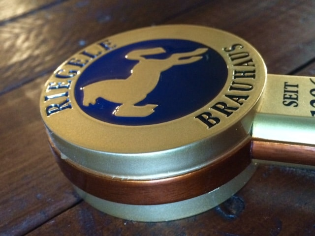 Rieggle Custom Beer Tap Handle