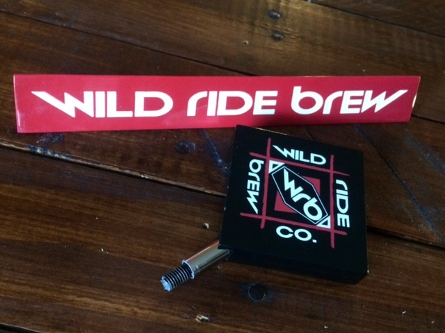 Wild Ride Brewing Beer Tap Handles