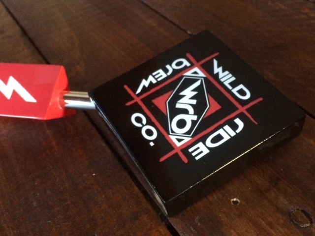 Wild Ride Brewing Custom Beer Tap Handles