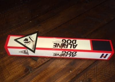 Alpine Dog Custom Beer Tap Handle