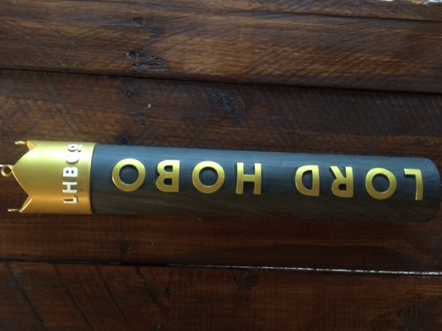 Lord Hobo Brewing Custom Beer Tap Handle