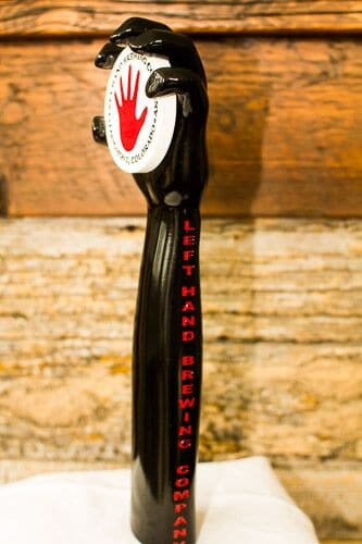 Left Hand Custom Tap Handle