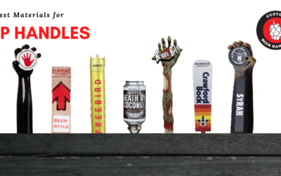 The Best Materials for Custom Tap Handles